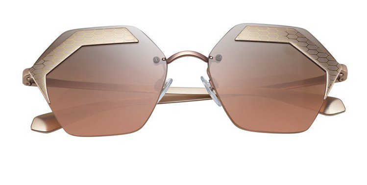 BVLGARI SERPENTEYES X系列太陽眼鏡,16,100元。圖/BV...
