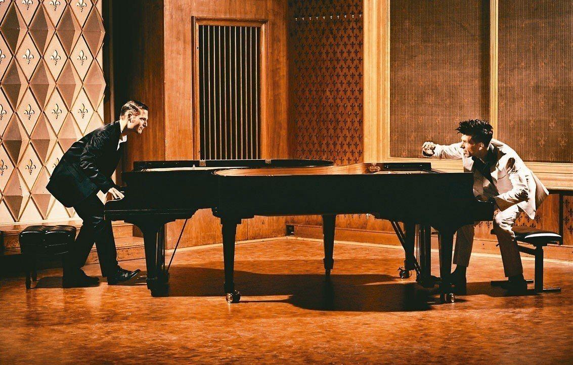 兩大才子帶來「鋼琴大鬥法」PK賽,九月將在北中南三地開演。 圖╱聯合數位文創提供