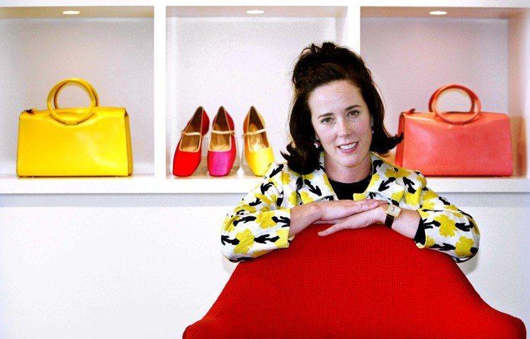 設計師Kate Spade在紐約寓所輕生。圖/美聯社