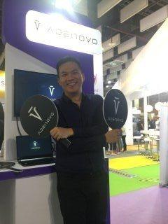 諦諾科技執行長劉晉良說,透過AI系統處理汽車貸款,在中國大陸只要五分鐘就可以算出...