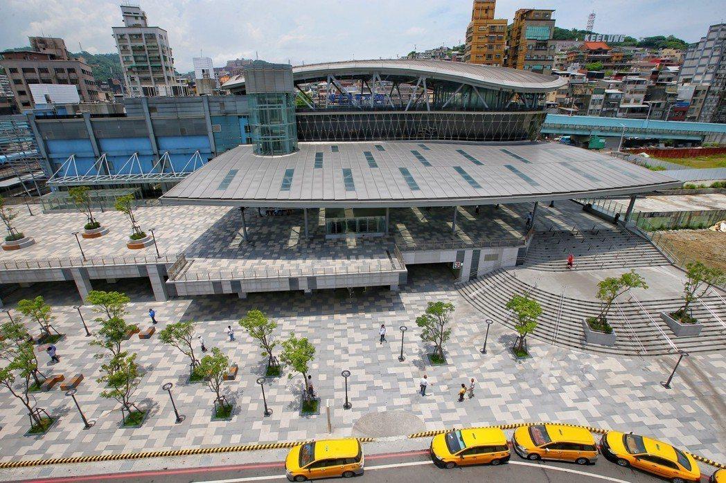 基隆火車站南站。 記者王騰毅/攝影