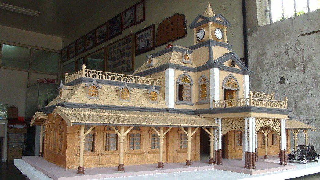 日據時期興建的第三代基隆車站,是仿西洋文藝復興築時期傑作。 圖/聯合報系資料照片
