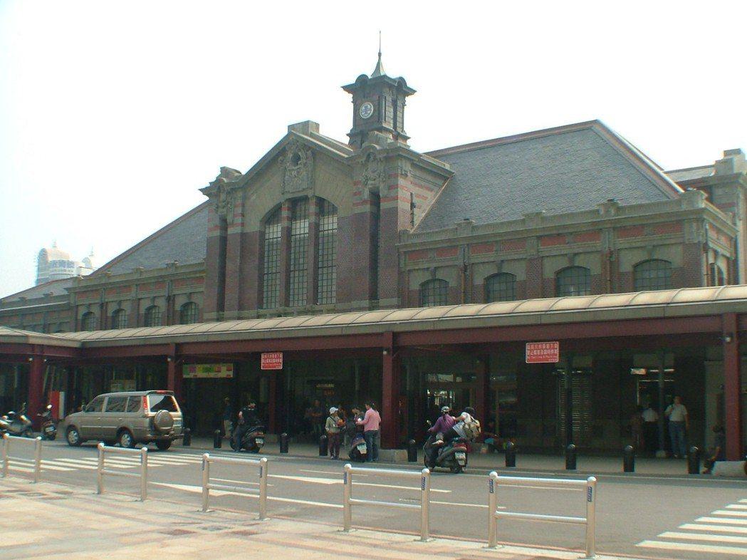 台中火車站舊站建於1917年,被列為國定二級古蹟。 圖/聯合報系資料照片