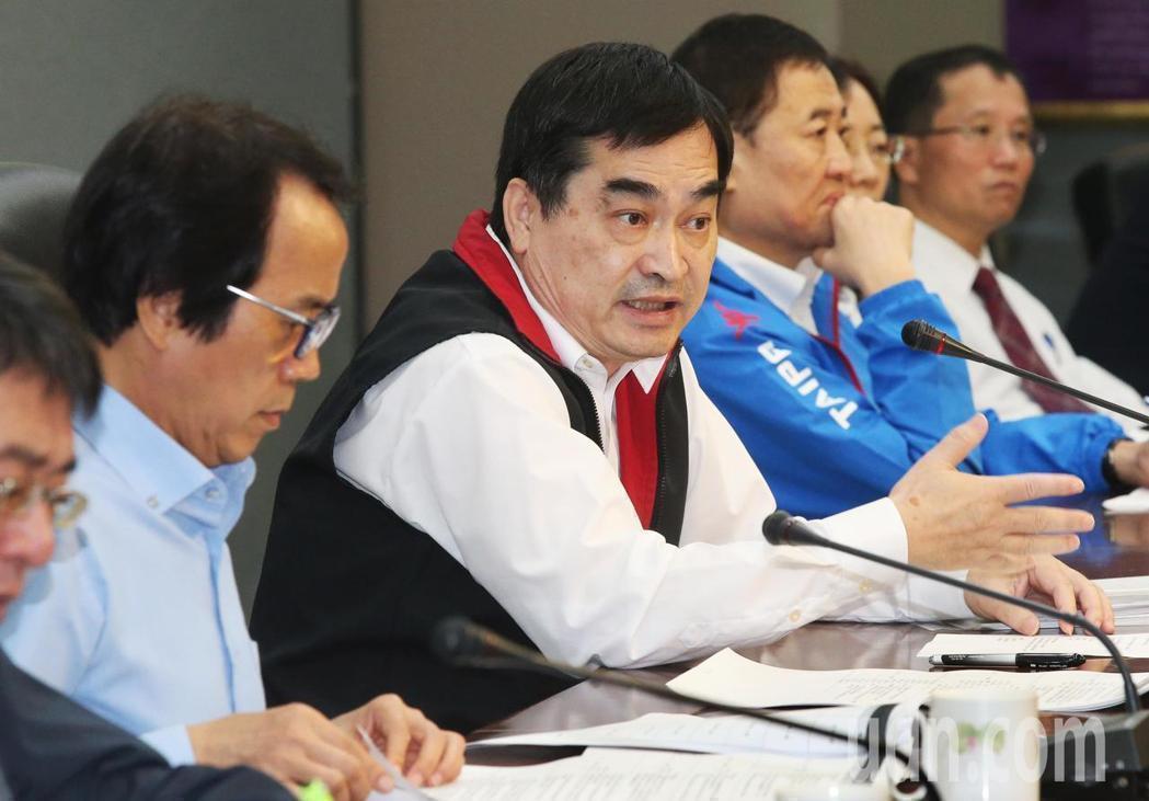 台北市政府副市長鄧家基。圖/報系資料照