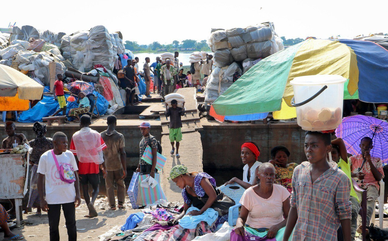 剛果。 美聯社