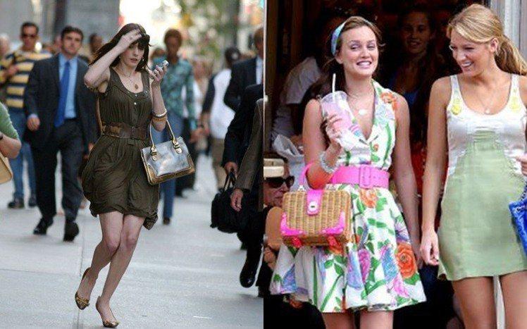 Kate Spade的包款經常出現在以時尚為題的影劇作品中。圖/擷自pinter...