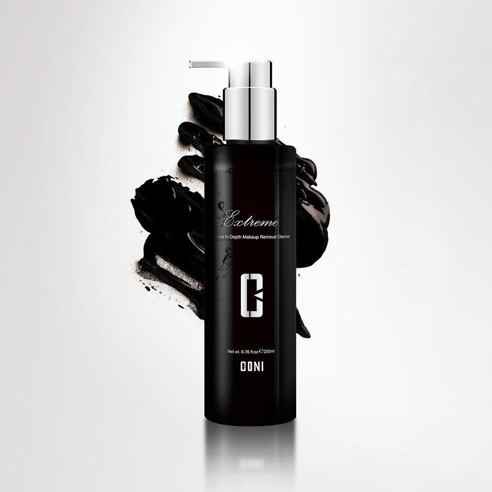 康倪CONI極萃黑深層卸妝精萃 200ml。廠商提供