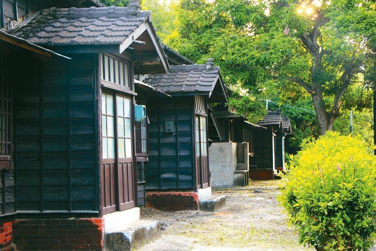 蒜頭糖廠日式宿舍區。