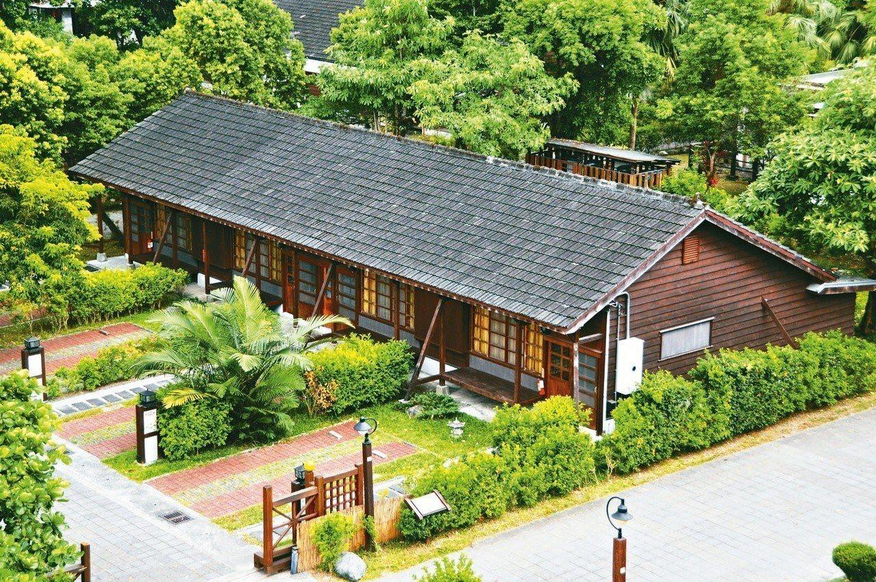 花蓮糖廠日式木屋。