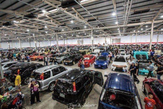 展場容納500多輛經典老車。 經典90/提供