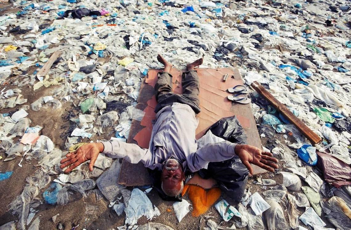印度放話,不再當塑膠大國? 圖/路透社