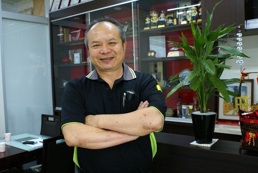 昌勇實業總經理蔡春吉。 吳青常/攝影