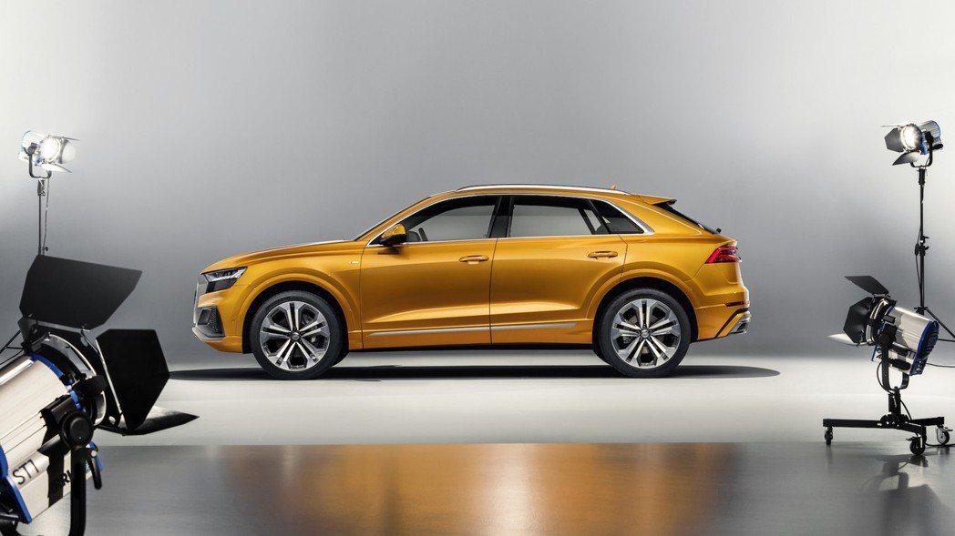 全新Audi Q8。 摘自Audi