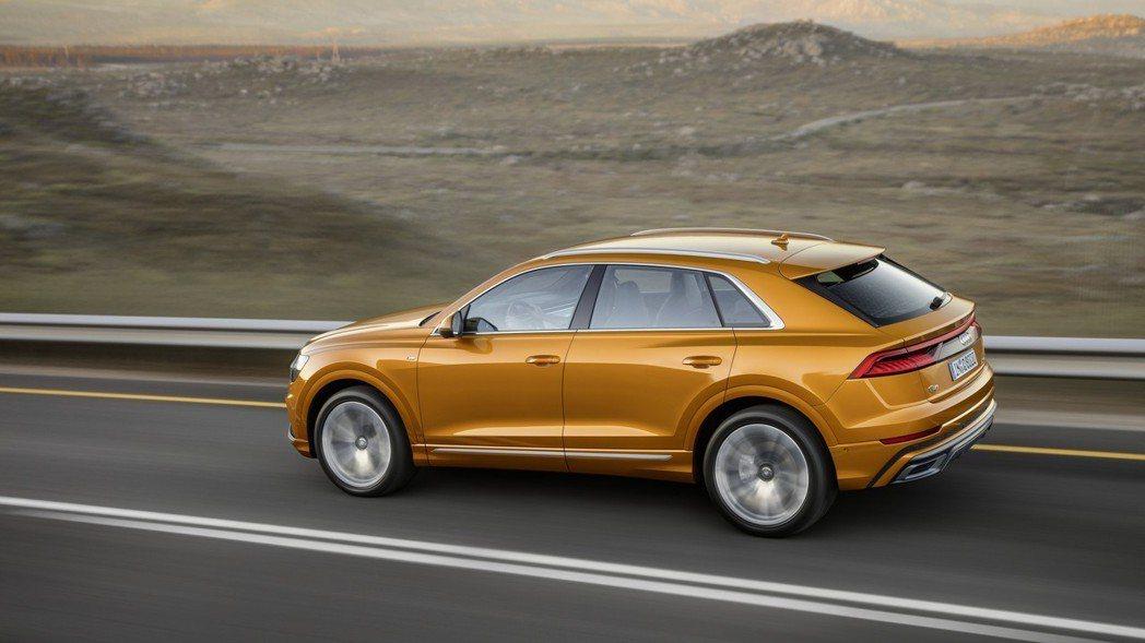 全新Audi Q8將於今年第三季率先於歐洲上市。 摘自Audi