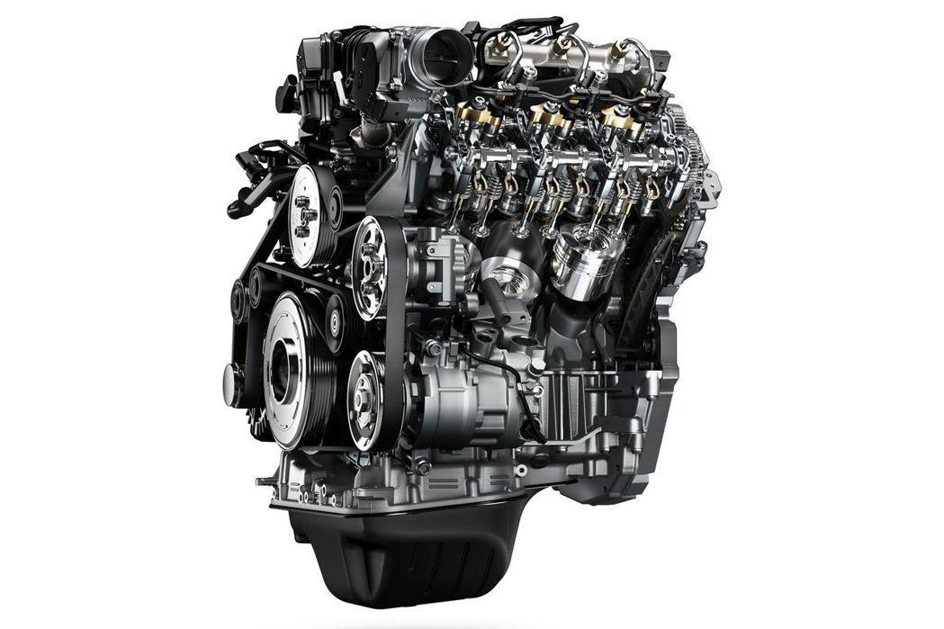換上3.0L V6渦輪增壓柴油引擎的小改款Amarok,動力表現提升到224PS馬力、56.1kgm峰值扭力輸出。 圖/福斯商旅提供