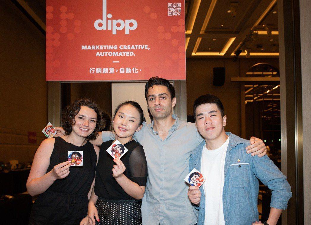 來自美國的團隊 dipp,開發 AI 技術的 SaaS 平台,讓品牌廠商自動生成...