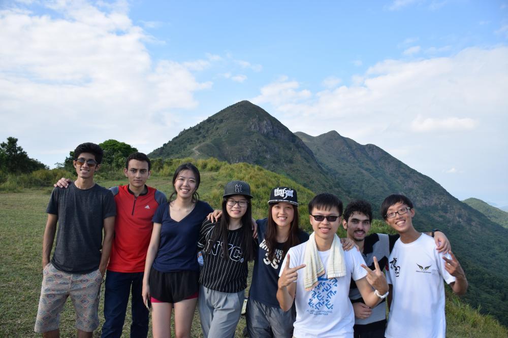 二愚大學之前都是在台灣讀書,目前是香港城市大學能源工程學系的大四學生。 圖/二愚...