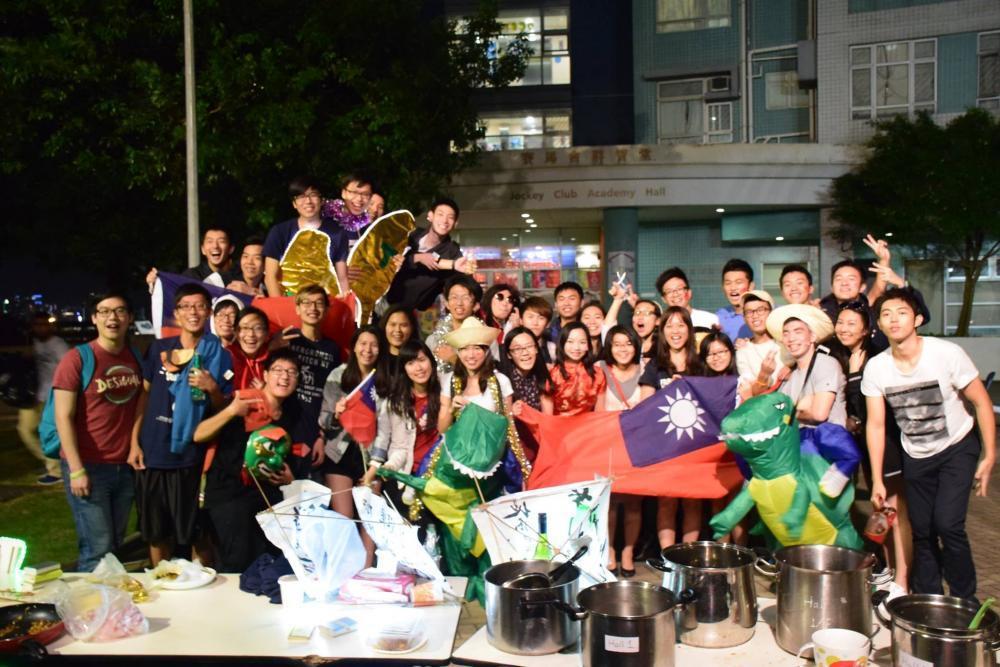 Global Festival Night 台灣攤位。 圖/二愚提供