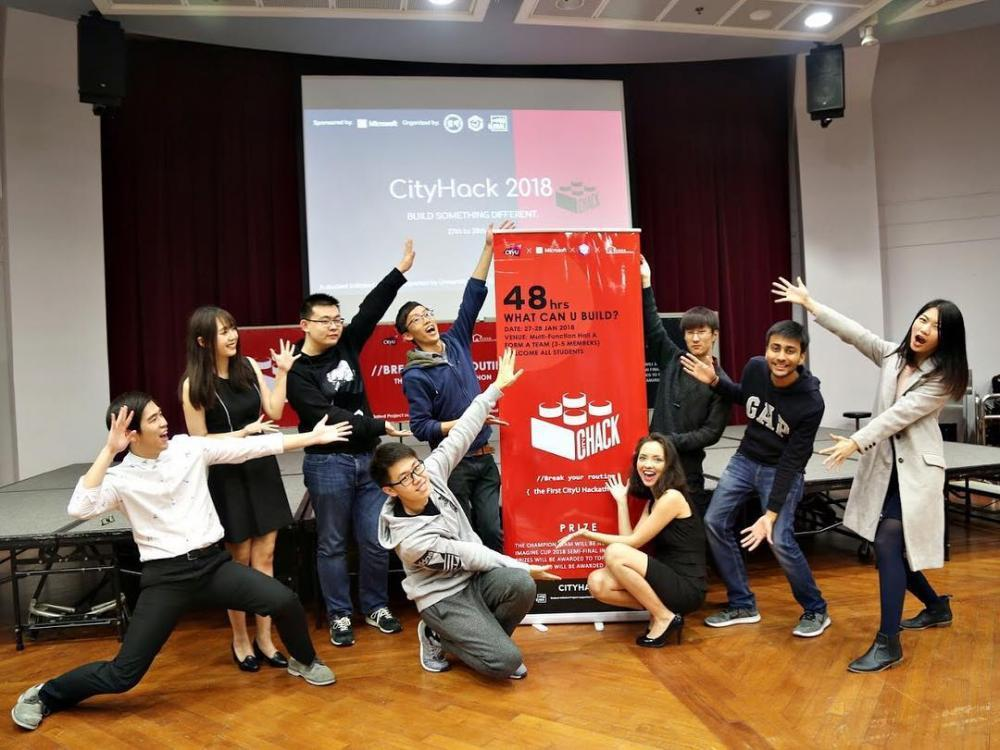 宿舍IT Team舉辦Hackathon比賽。 圖/二愚提供