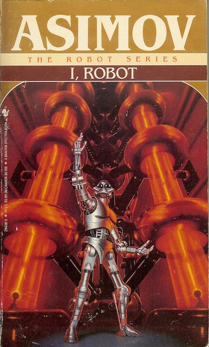 I, Robot 原著封面 (photo credit: Flicker RA....