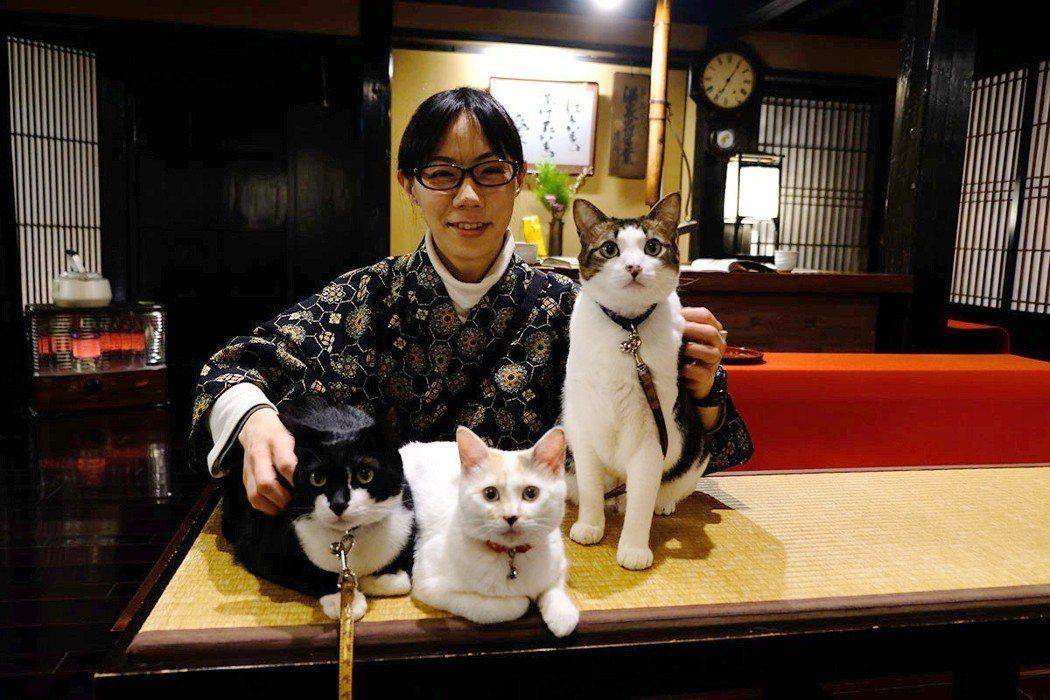 由若女將想出來的貓店長IDEA成為西屋旅館另一種招牌