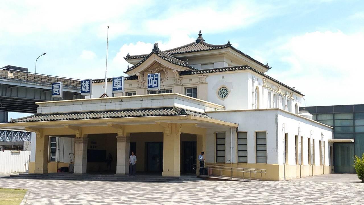 高雄鐵路地下化後,日治時期的舊高雄火車站將移回新站廣場正前方。記者蔡孟妤/攝影