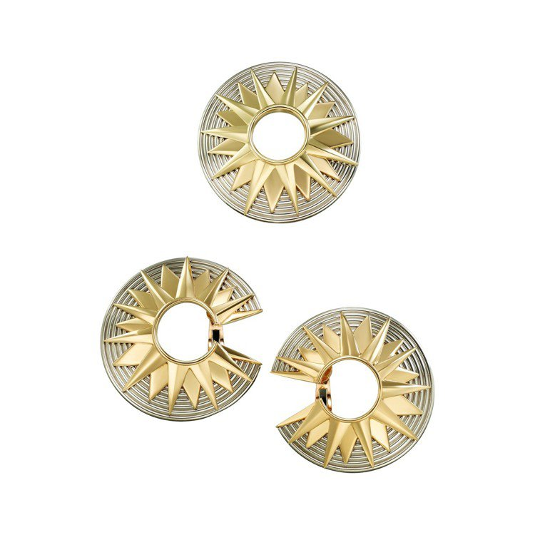 安海瑟薇配戴的卡地亞古董珍藏系列耳環,卡地亞巴黎,1997年製,價格店洽。圖/卡...