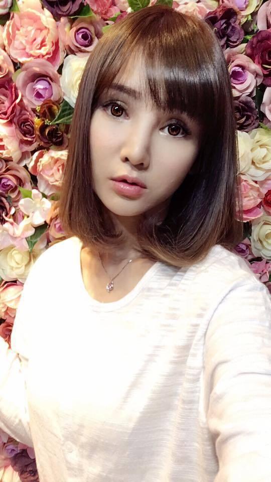有粉絲發現短髮造型的高宇蓁,激似同樣是八點檔熟面孔的女星陳子玄。圖/摘自臉書