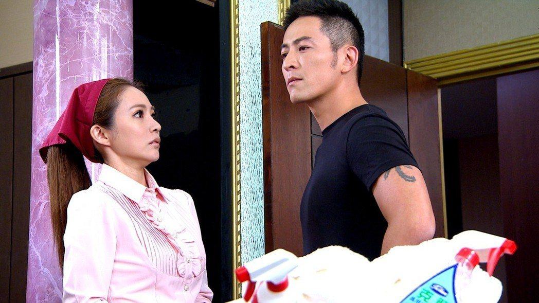 高宇蓁(左)和前男友趙駿亞再度合作。圖/三立提供