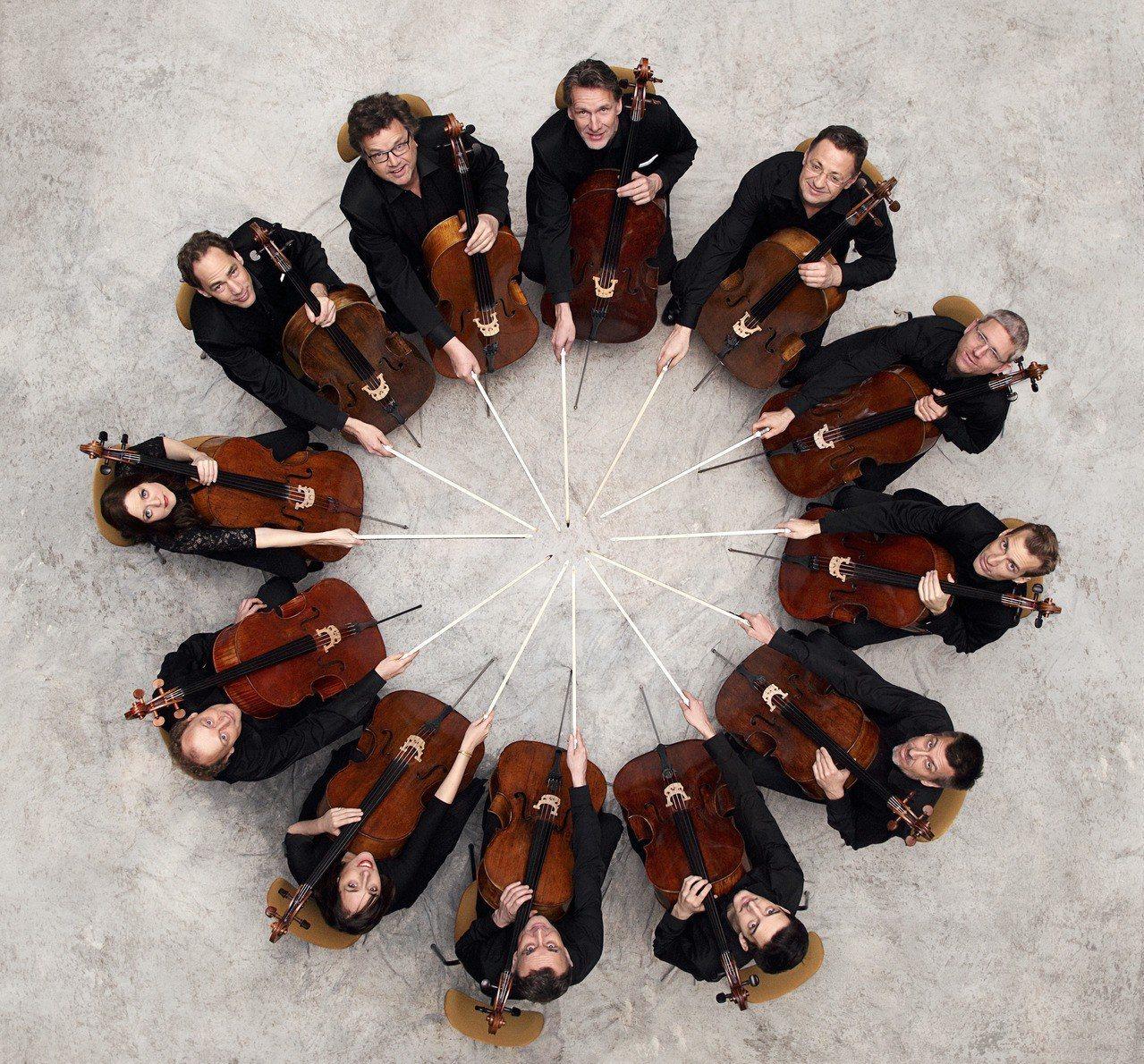 「柏林愛樂12把大提琴」兩年一度的亞洲巡迴,7月1日在高雄市文化中心至德堂演出。...