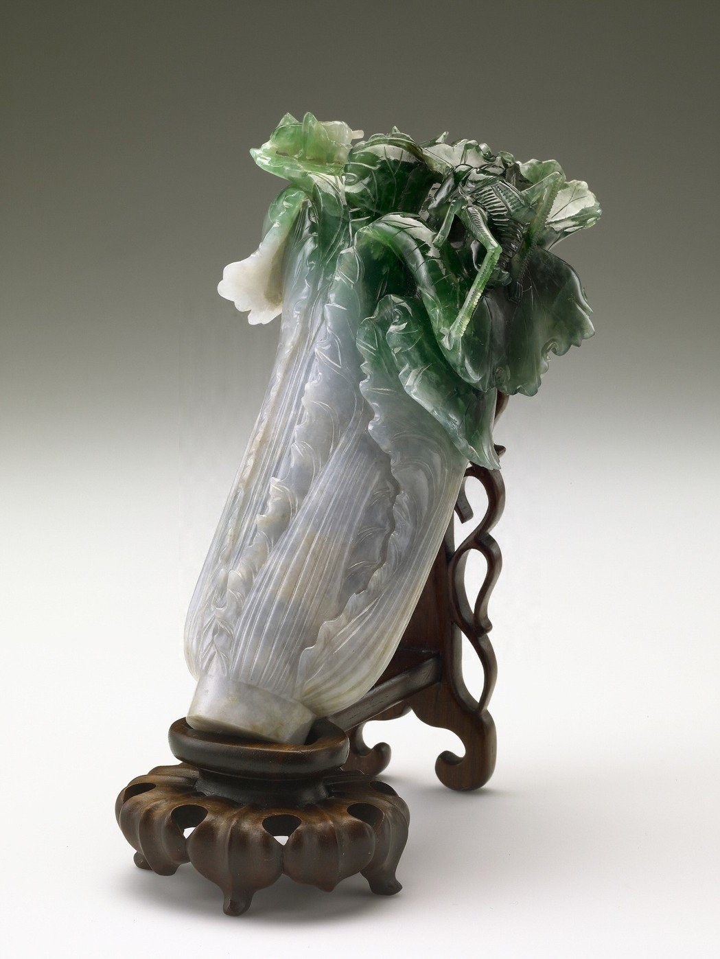 翠玉白菜被北京故宮院長形容為「三級品」。圖/故宮提供
