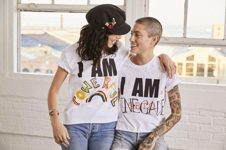 穿上「做自己 I AM _______」系列T恤,留白設計如同一個未完成的填空...