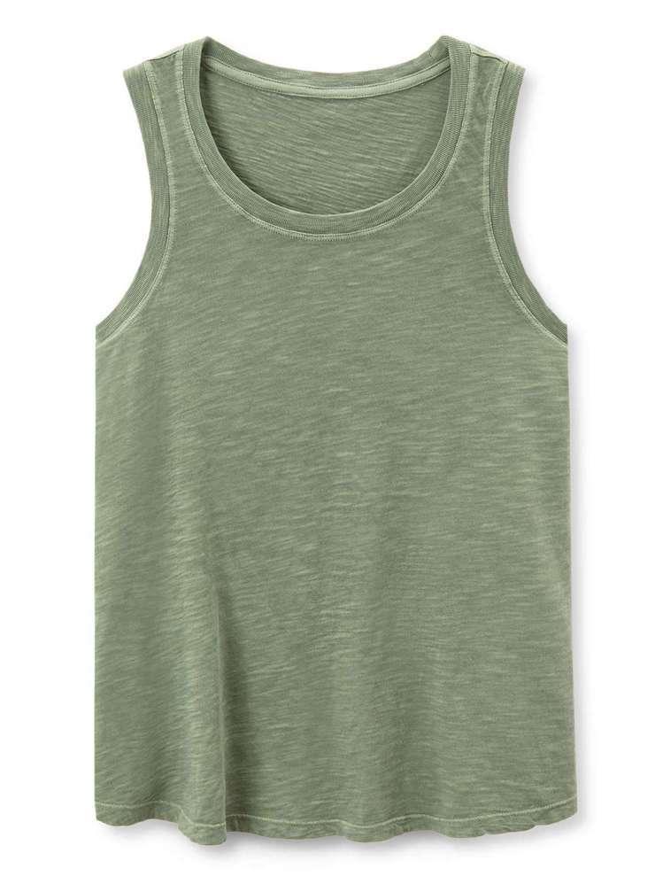 GAP舒適柔軟純色休閒女裝背心,約499元。圖/GAP提供
