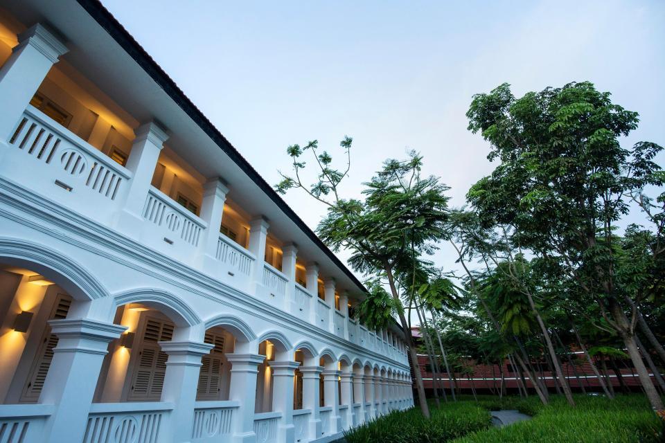 酒店充滿殖民時代莊園風格。美聯社