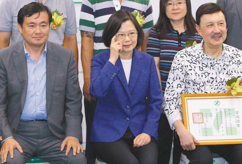 北農總經理吳音寧上任迄今風波不斷,蔡英文總統選擇力挺。 圖/聯合報系資料照片