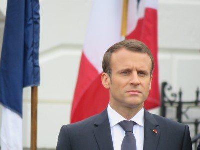 法國總統馬克宏。聯合報系資料照