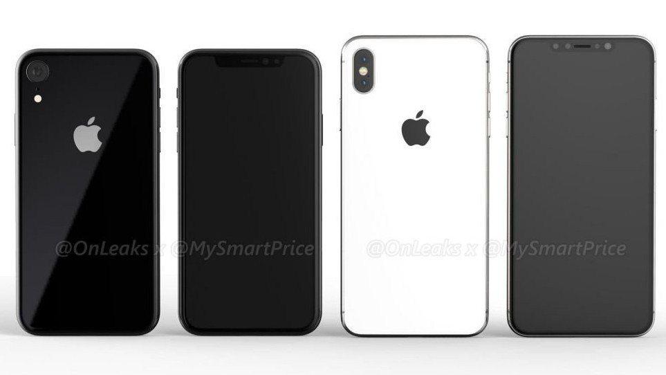 傳為蘋果2018年6.5吋和5.8吋OLED版iPhone。 圖擷自mysmar...