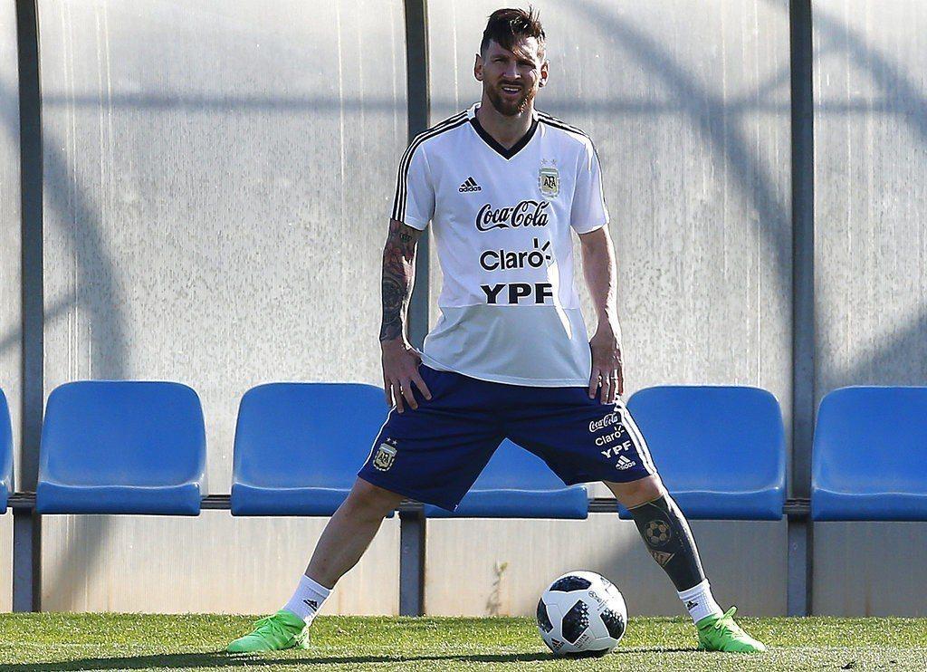 體育運動頻道ESPN分析世界盃情勢,看好阿根廷巨星梅西(Lionel Messi...