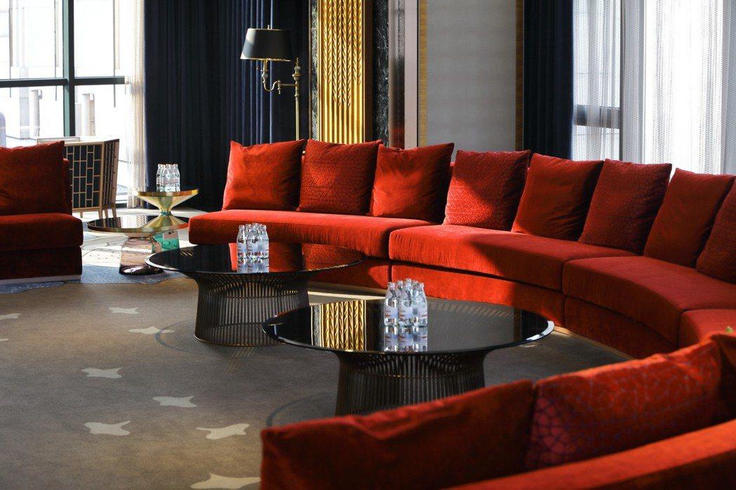 視廳室可做為親友餐敘後的餘興空間。 圖片提供/京城建設