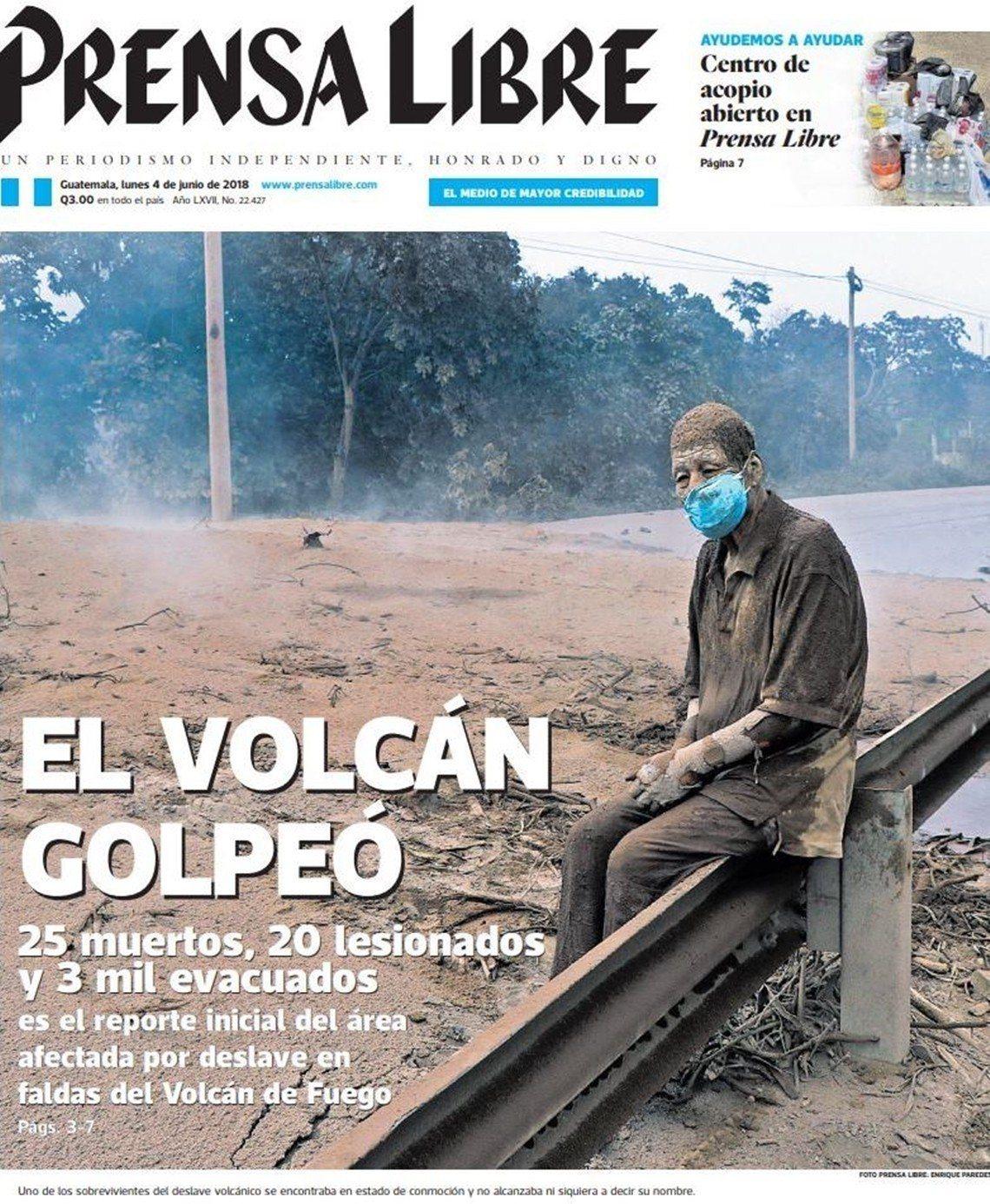 成為災難受災面孔之一,但仍不幸逝世的康賽普遜。 圖/《自由傳媒》