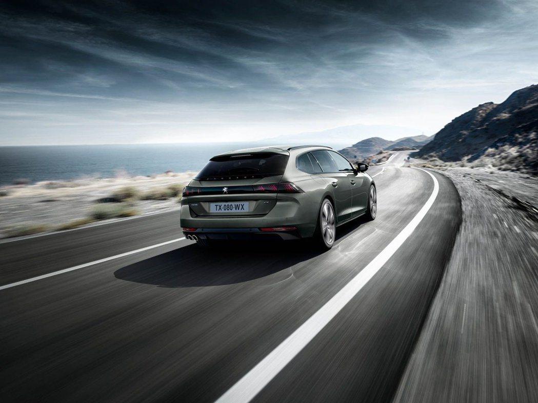 New Peugeot 508 SW再次顛覆我們對於美學的定義。 摘自Peugeot