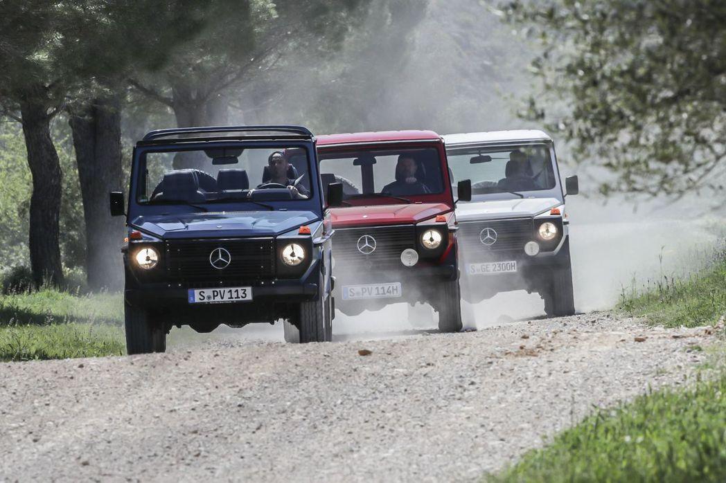 發展近40年的Mercedes-Benz G-Class車系,今年已經進入全新世代車型。現在就先來回顧G-Class過往的發展歷史。 圖/Mercedes-Benz提供