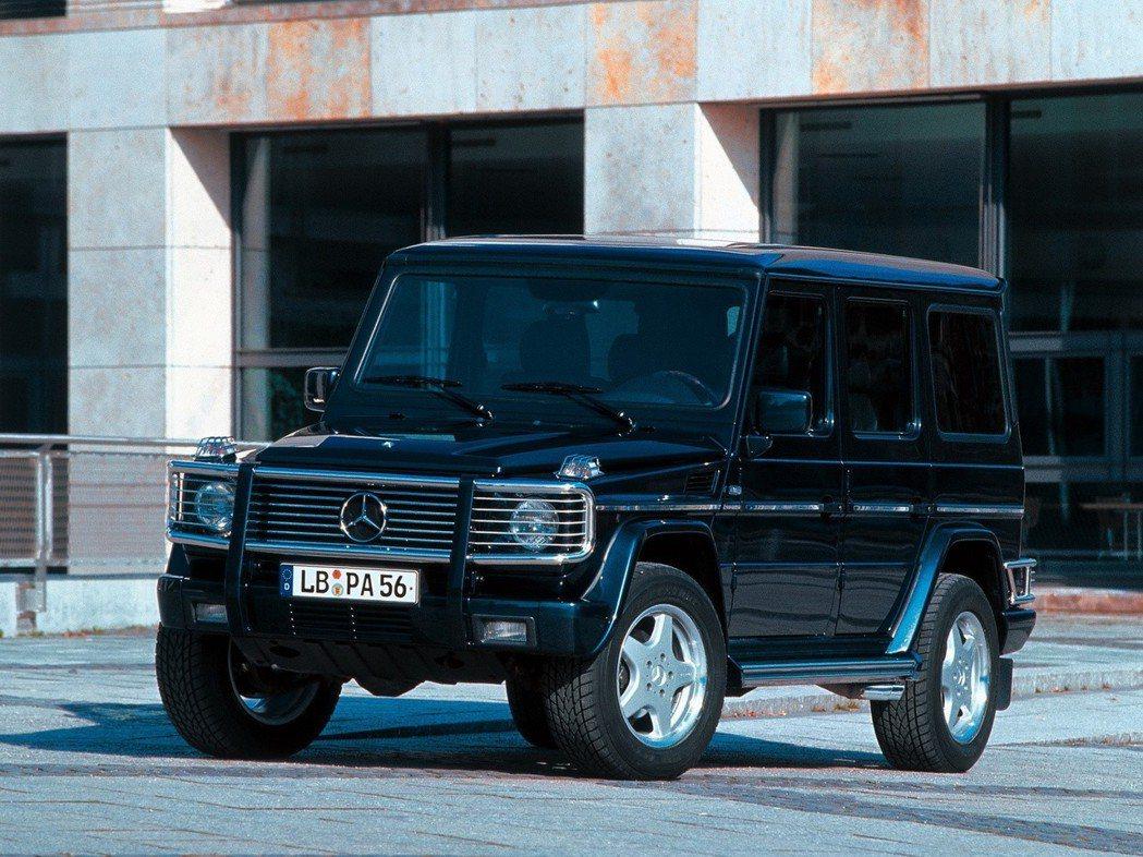 Mercedes-Benz G55 AMG 圖/Mercedes-Benz提供