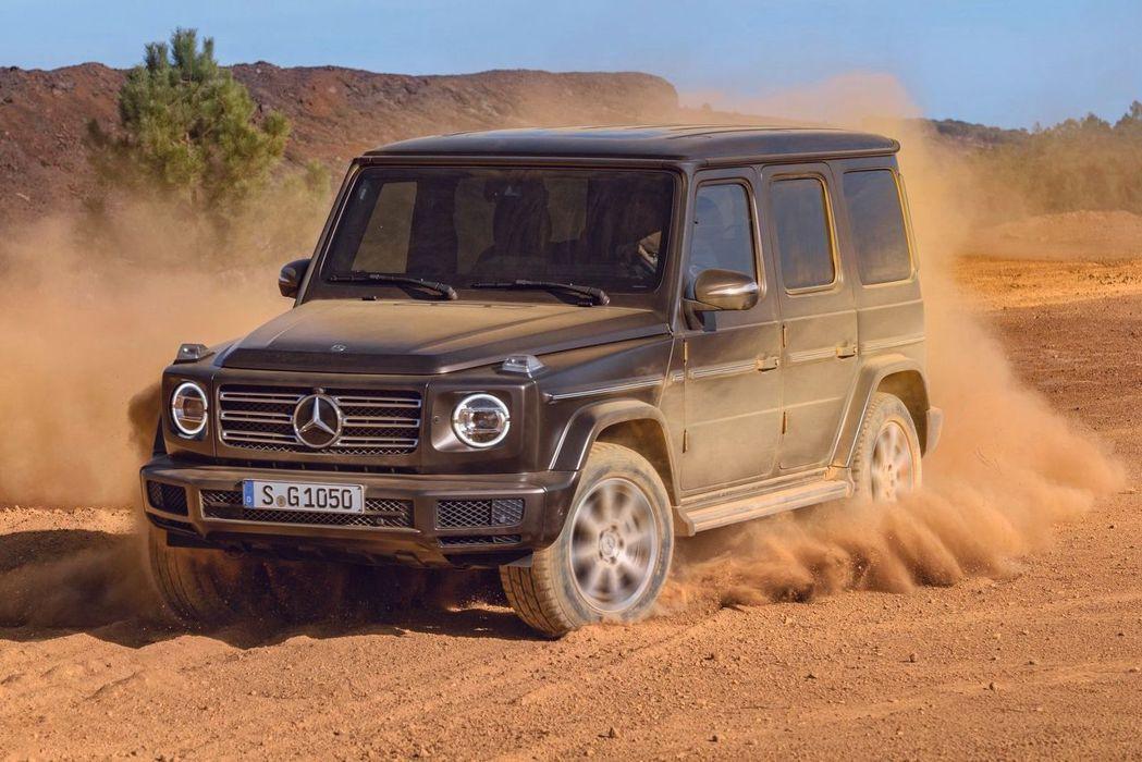 今年初美國底特律車展發表的新世代Mercedes-Benz G-Class,預計在今年中在台發表上市。 圖/Mercedes-Benz提供