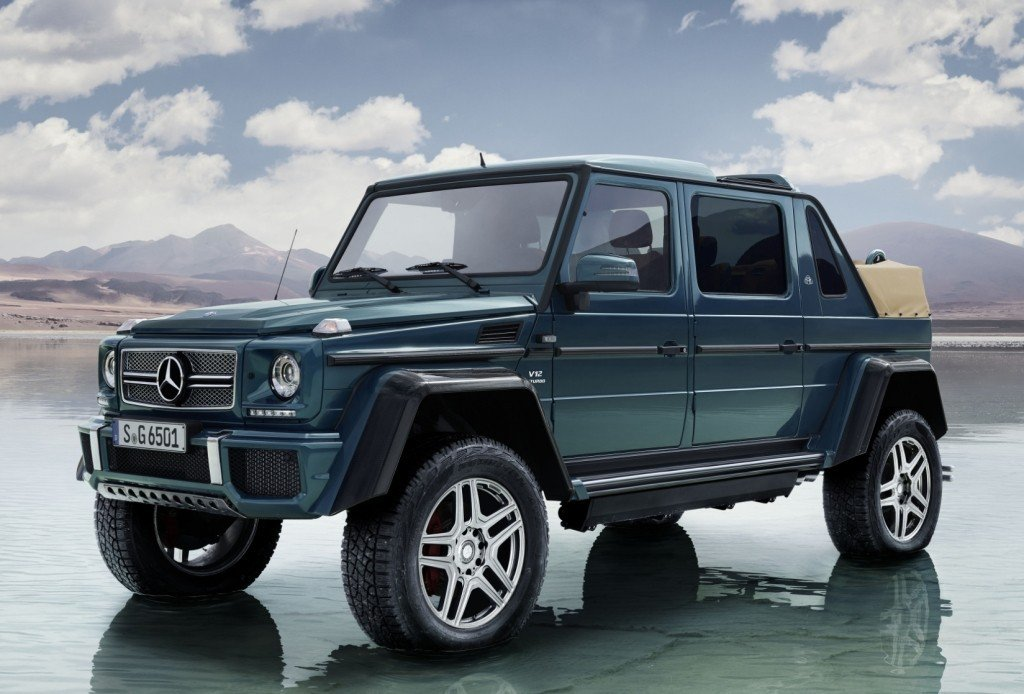 Mercedes-Maybach G650 Landaulet 圖/Merced...