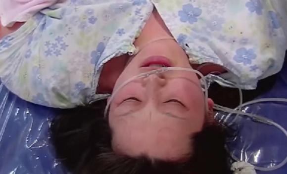 31歲媽媽石艾可頭兩胎都出生就夭折,她力拚第三胎。取自微博