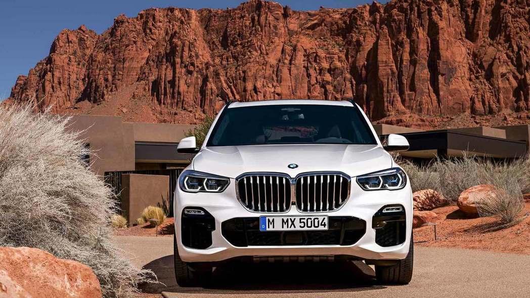 全新BMW X5(G05) 車頭。 摘自BMW