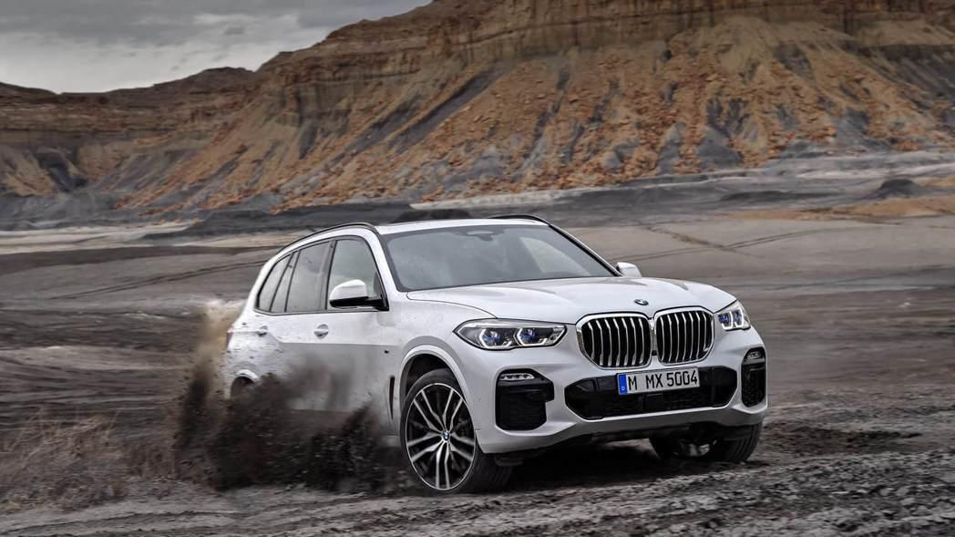 全新BMW X5(G05)擁有18~22吋的鋁圈配置。 摘自BMW
