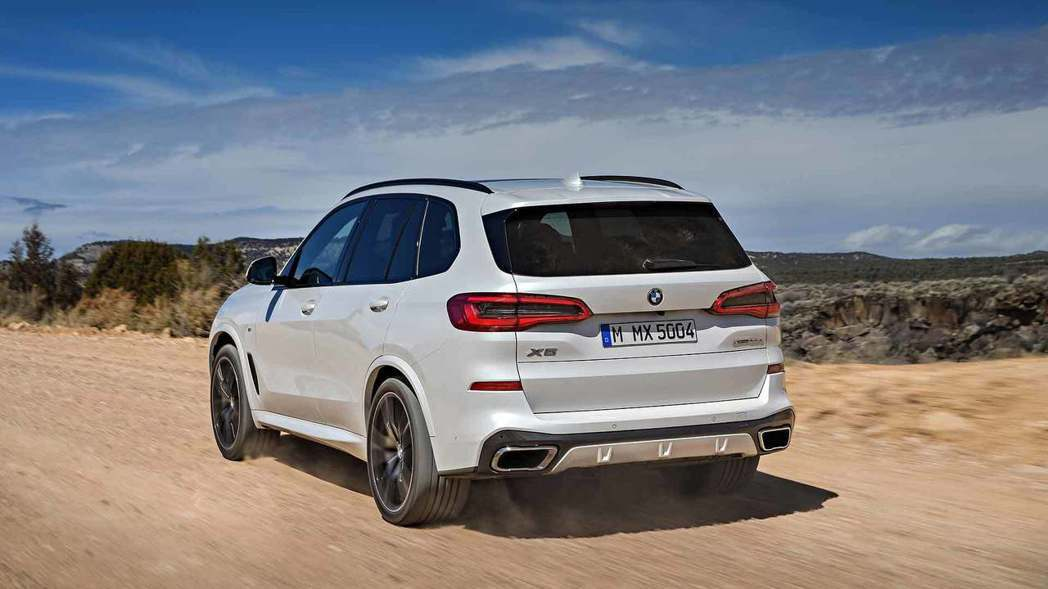 全新BMW X5(G05)。 摘自BMW