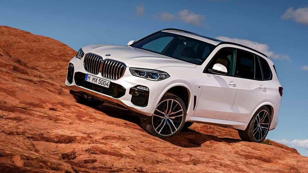 全新BMW X5(G05)初期提供了四種汽柴油車型。 摘自BMW